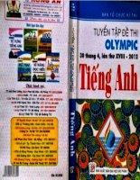 Tuyển tập đề thi olympic tiếng anh năm 2012