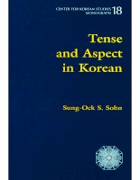 09 tense and aspect in korean