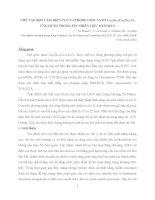 CHẾ TẠO BỘT LÀM ĐIỆN CỰC CATHODE GỐM NANO La0.6Sr0.4Co0.2Fe0.8O3 ỨNG DỤNG TRONG PIN NHIÊN LIỆU OXIT RẮN