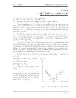 Thiết kế yếu tố hình học đường ôto - Chương 4:THIẾT KẾ TRẮC DỌC VÀ TRẮC NGANG:
