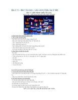 Địa lí 11 – Bài 7 Cơ bản – Liên minh Châu âu( 3 tiết) pdf