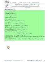 Luyện thi đại học môn vật lý chuyên đề dòng điện xoay chiều độ lệch pha