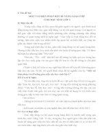 RÈN KĨ NĂNG GIAO TIẾP  CHO HỌC SINH LỚP 3