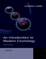 liddle a. introduction to modern cosmology