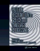(ebook) crc press - pattern recognition in speech and language processing 2003