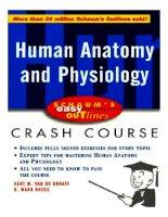 schaum's outline of human anatomy and physiology - kent m. van de graaff, r. ward rhees