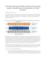 Giới thiệu Spring Roo, Phần 4: Phát triển ứng dụng nhanh trong đám mây với Spring Roo và Cloud Foundry doc