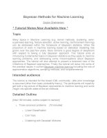 bayesian methods for machine learning