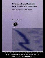 intermediate russian a grammar and workbook