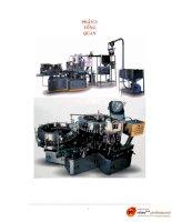 thiết kế máy rửa chai trong hệ thống dây chuyền sản xuất nước tinh khuyết, chương 1
