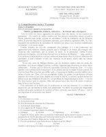 Đề thi học sinh giỏi lớp 12 THPT tỉnh Hải Dương năm 2012 môn Tiếng Pháp doc