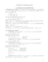 Hàm biến phức và phép biến đổi Laplace