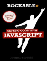 rockable press getting good with javascript (2011)