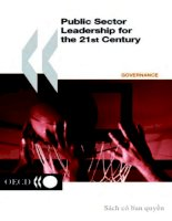 public sector leadership for the 21st century pptx