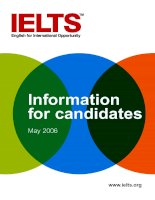 ps education ielts information for candidates 2006
