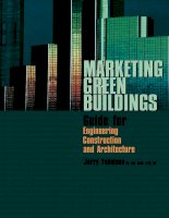 marketing green buildings - guide for engineering, construction and architecture