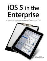 peachpit press ios 5 in the enterprise, a hands-on guide to managing iphones and ipads (2012)