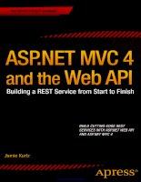asp.net mvc 4 and the web api
