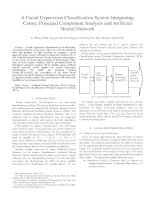 a facial expression classification system integrating canny, principal component analysis and artificial neural network