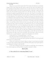 Bài tập tình huống Luật lao động