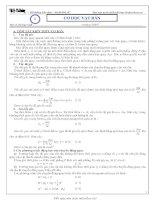 Tài liệu ôn thi đại học môn vật lý của Vũ Đình Hoàng tập 1