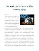 Sức mạnh của .net trong tự động hóa công nghiệp pot