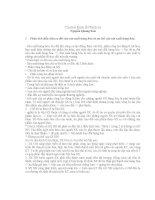 BỘ CÂU HỎI VÀ LỜI GIẢI MÔN KINH TẾ CHÍNH TRỊ
