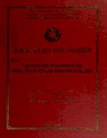 khóa luận tốt nghiệp dịch vụ và thương mại dịch vụ của trung quốc và việt nam trong giai đoạn thời kỳ hội nhập