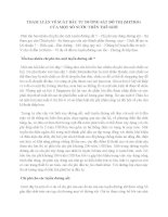 THAM LUẬN VỀ SUẤT ĐẦU TƯ ĐƯỜNG SẮT ĐÔ THỊ (METRO)  CỦA MỘT SỐ NƯỚC TRÊN THẾ GIỚI