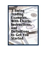 alan farley - 3 swing trading examples, with charts, instructions, and definitions to get you sta