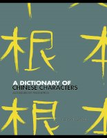 a dictionary of chinese characters accessed by phonetics