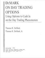 demark,tom - demark on day-trading options