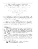 nét hoa văn trên trang phục truyền thống của dân tộc tà – ôih (huyện a lưới – thừa thiên – huế)