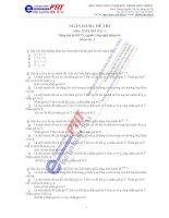 Giáo an Bài giảng: Công nghệ thông tin về trắc nghiệm toán rời rạc tập 1 và 2