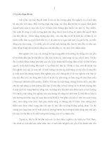 ẢNH HƯỞNG CỦA CHU KỲ MẶT TRĂNG VÀ YẾU TỐ MÙA LÊN TỶ SUẤT SINH LỢI CHỨNG KHOÁN