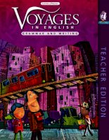 voyages in english - writing and grammar - teacher book 7