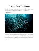 5 lý do để đến Philippines pdf