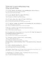 75 cấu trúc tiếng anh thông dụng