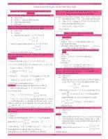 các dạng toán thường gặp trong đề thi đại học