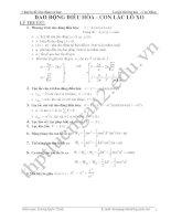 Chuyên đề dao động cơ học