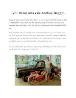 Ghé thăm nhà của hotboy Baggio docx