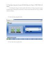 Ứng dụng trong quản trị quan hệ khách hàng của Công ty TNHH Thiết bị số Dmart pot
