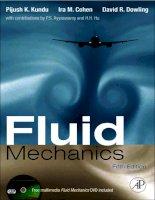 fluid mechanics with multimedia dvd, fifth edition