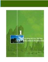 Báo cáo môi trường 2005 - chuyên đề đa dạng sinh học