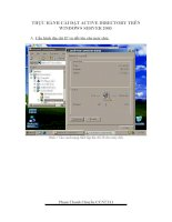 cài ACTIVE DIRECTORY trên windows Server  2003 Standard Edition