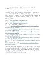 Tổng hợp câu hỏi LÍ THUYẾT và đáp án môn sinh học lớp 12