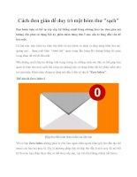 Cách đơn giản để duy trì một hòm thư