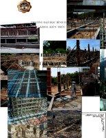 Báo cáo thực tập kiến trúc sư tại công ty kiến trúc bình dương