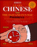 barron's learn chinese the fast and fun way
