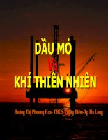 GIáo án tham khảo bồi dưỡng hóa học Bài 40 Dầu mỏ và khí thiên nhiên